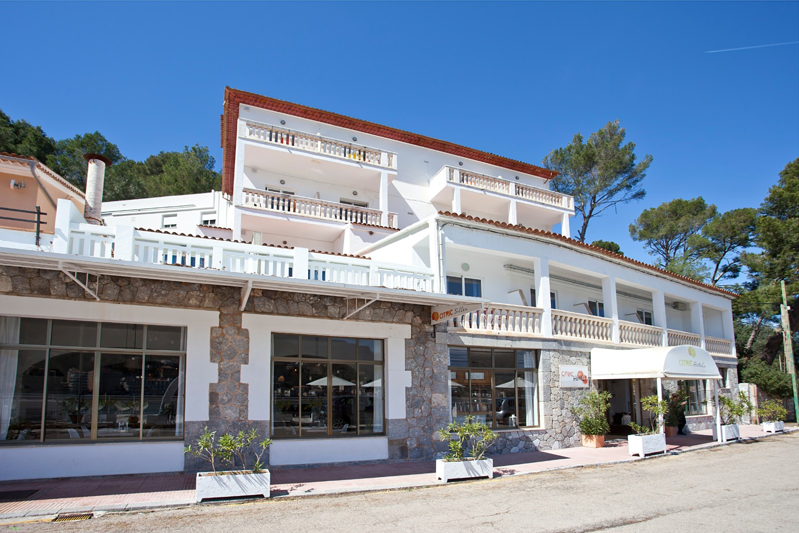 Citric Hotel Soller Front View